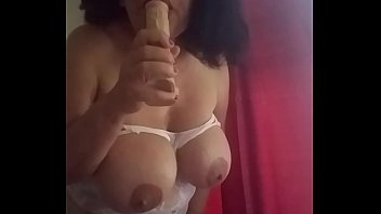 Flabby big boobs Playing with myself