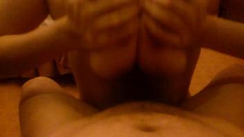 Titsfuck by Oily greasy busty big boobs POV - boobslivecam.com