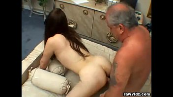 Teen Elisa Rides Old Dude's Dick