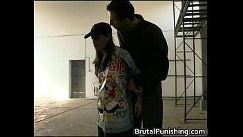 Hard-core bondage and brutal punishement