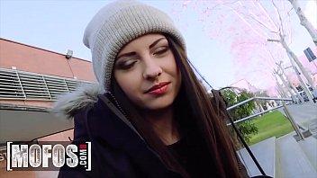 Italian Teen (Rebecca Volpetti) Getting Her Ass Fucked In Public - MOFOS