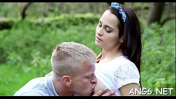 Guy is pounding babe with his rock hard love muscle