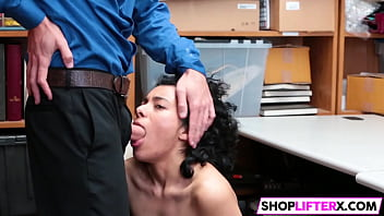 LP Officer Pat Sexy Shoplifter Down