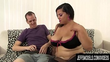 Big Tits Latina BBW Lady Spice Has Her Hairy Pussy Stretched thumbnail