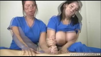 handjob big tits