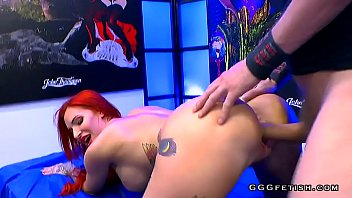 Streaming Video Redhead busty slut gets anal with bukkakes - XLXX.video