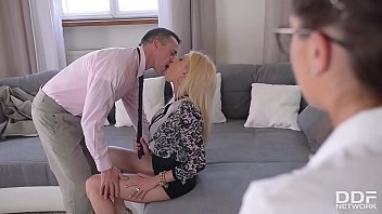 Get off while hot bombshells Donna Bell &amp_ Bijou get their assholes fucked