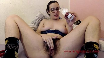 Trailer of my extreme experience masturbation: hot chili naga in my hairy pussy. I am young natural and sexy Aragne Spicy exploring my masochist pleasure. I am a switch Mistress and I love to transform pain in pleasure, I only can be punished by me