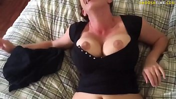 Annie wersching boob Milf sucks and fucks young stud