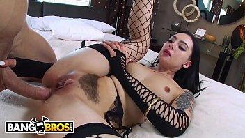 BANGBROS - Marley Brinx Has Anal Sex With Big Dick Porn Stud Chris Strokes