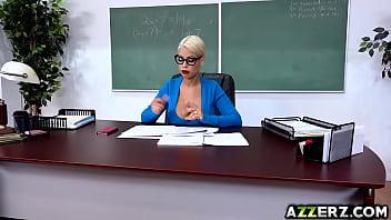 Busty prof Bridgette fucks with student Alex thumbnail