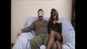 Sexy Slut In Black Stockings Fucked And Filmed