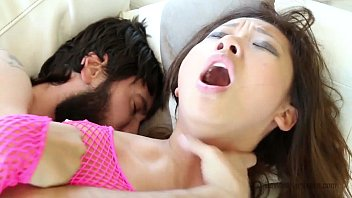 Tiny Alina Li Rough Throat Fucking Sloppy Sex