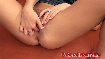 Babesalicious - Blonde Teen Ally Masturbating Herself