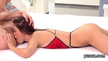 Sultry czech sweeties open up their butts with anal plug and thick dildos