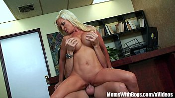 Wife Diamond Foxxx Shoving Her Tits Over A Man's Face preview image
