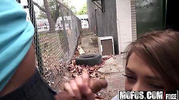 Mofos - Public Pick Ups - (Kirsten Lee) - Slender Cutie Spreads her Pussy
