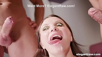 MILF Gets Double Penetrated at Work