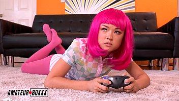 Amateur Boxxx - Gamer Girl Lulu Chu Forced Orgasm By Step-Bro