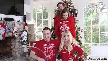 Blonde teen babe anal first time Heathenous Family Holiday Card