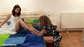 Interupted Grooming sensual lesbian scene by SapphiX