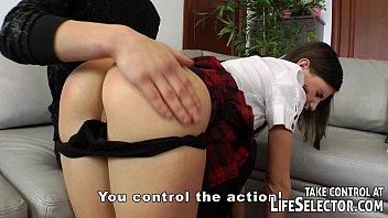 When is too early to spank The bad schoolgirl gets spanking and anal