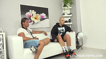 Shaved Head Girl In Casting Fuck Dream