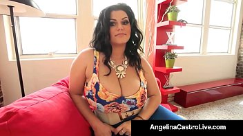 BBW Cuban Nanny Angelina Castro Sucks Her New Boss' Cock!
