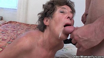 Really old women sex tubes - Hairy granny loves anal sex