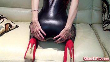 Cum on My Canadian Feet!! MILF Shanda Fay!!