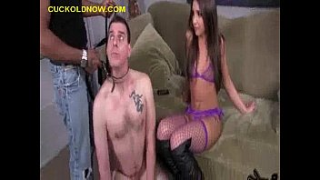 Cuckold is beiing Humiliated Black Studs