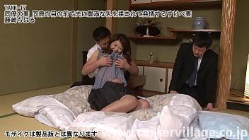 同僚の妻 同僚の目の前で夫に豊満な乳を揉まれて発情するすけべ妻 藤崎ちはる