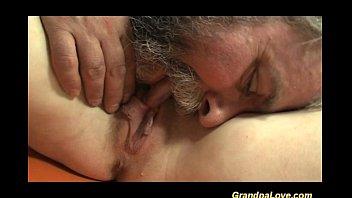 lucky grandpa in love