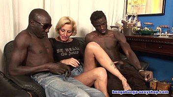 40 plus gangbang Over 40 and two black guys