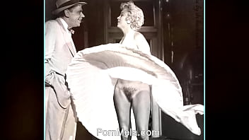 Marilyn monroe nude calendar photo - Famous actress marilyn monroe vintage nudes compilation video