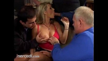 Blonde Used As Cum Dumpster In Gangbang