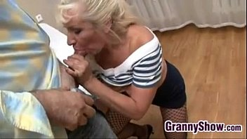 Granny Gets Pounded In Many Positions