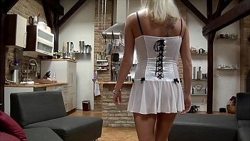 Blonde German Cuckold Mom