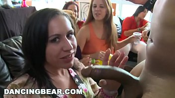 Bear big dick fat - Dancing bear - bachelorette loft party with big dick male strippers