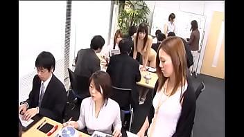 Japanese Girls Nude at Work ENF