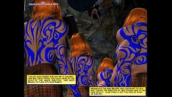 3D Comic: Wonderland. Episode 1