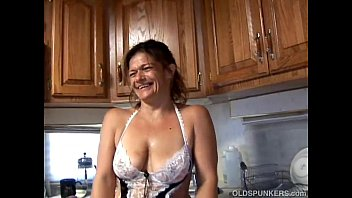 Trailers i love mature Trashy old spunker in sexy lingerie fucks her juicy pussy for you
