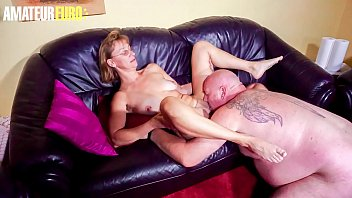 AMATEUR EURO - Amateur Granny Got Pussy Licked And Hard Banged By Her Mature Husband