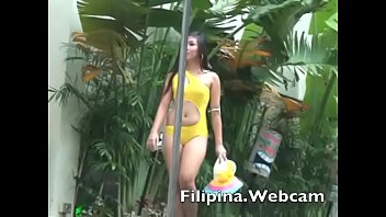 Bikini shirt t wet Filipina.webcam webcam girls sexy bikini pool party competition in the philippines