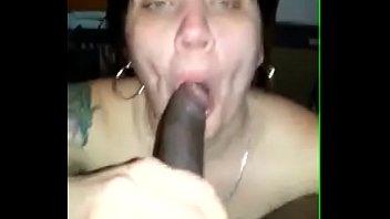 supervisor Luna sucking on the black friend