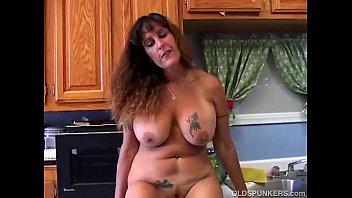 Beautiful big tits MILF is feeling horny