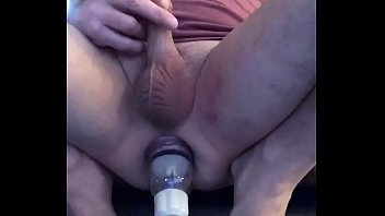 APPLYING AN ANAL PUMP TO MY ALREADY ABUSED BUTTHOLE