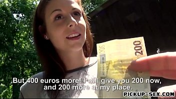 Czech slut Antonia Sainz banged for cash
