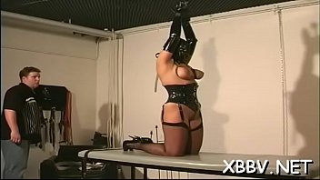 Breasty female hawt bondage