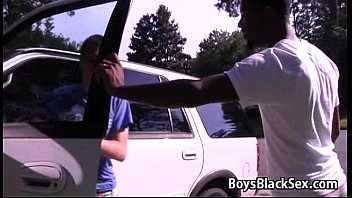 Black Muscular Gay Dude Fuck White Twink Boy - BlackOnBoys 16